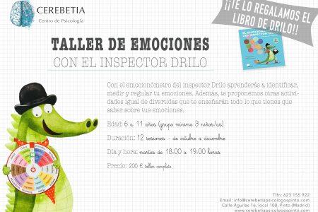 TALLER DE EMOCIONES CON EL INSPECTOR DRILO